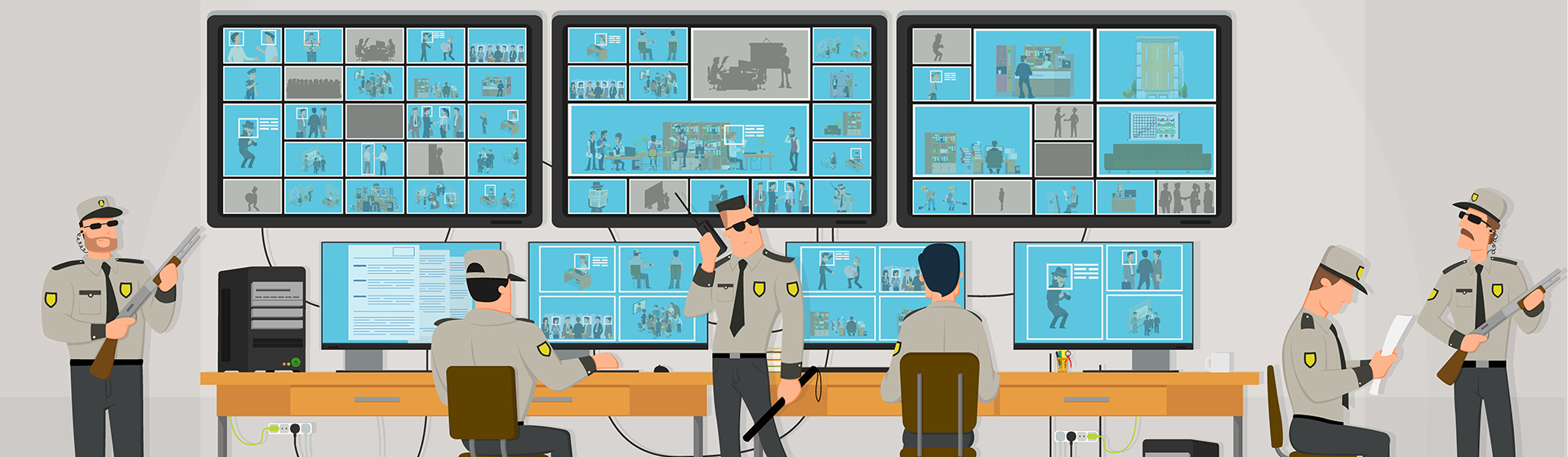 Security Surveillance System Solutions